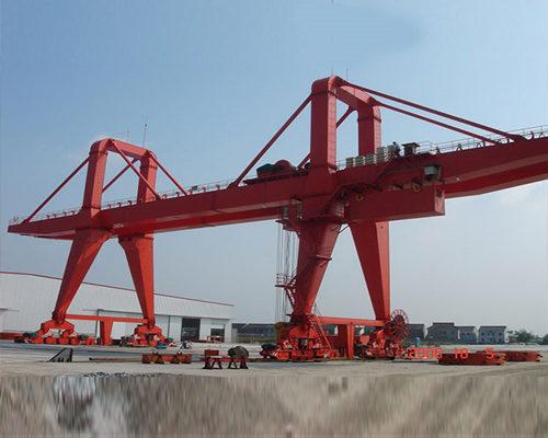 Competitive price Ellsen engineering gantry crane for sale
