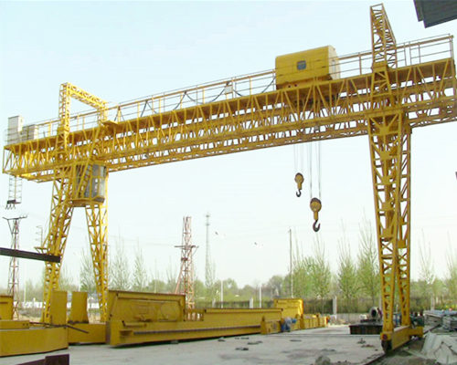 Double girder gantry truss crane with cheap price for sale