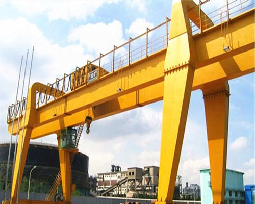 100 ton double girder trolley gantry crane for sale