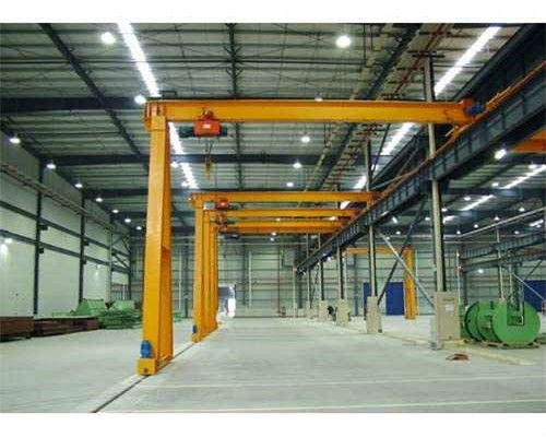 Ellsen BMG Model Double Girder Semi Gantry Crane