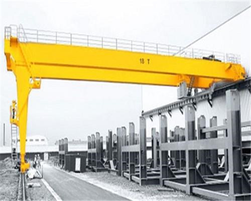AQ-BMH Model Electric Hoist Semi Gantry Crane