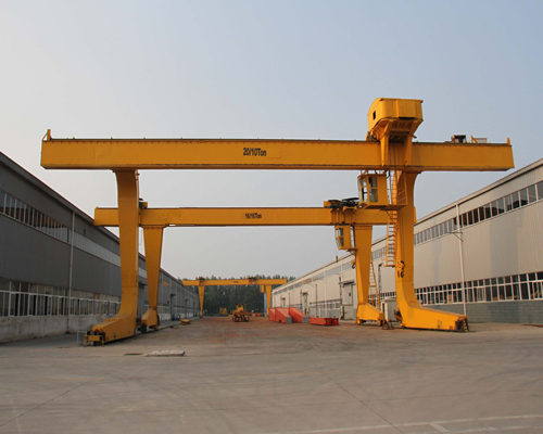 l type electric trolley gantry crane for sale