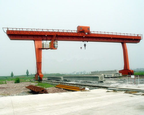 Excellent l type single girder hydraulic gantry crane for sale