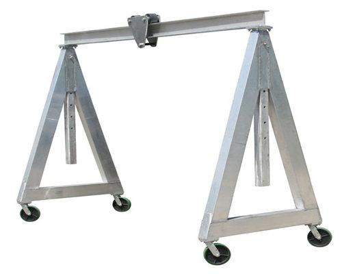 aluminum gantry cranes in low price for sale