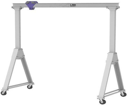 aluminum structure cheap gantry crane for sale