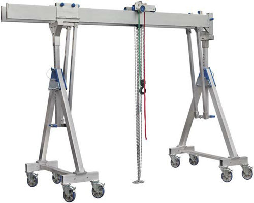 cheap portable aluminum gantry crane for sale