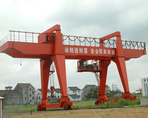 Excellent double girder industrial hydraulic gantry crane for sale