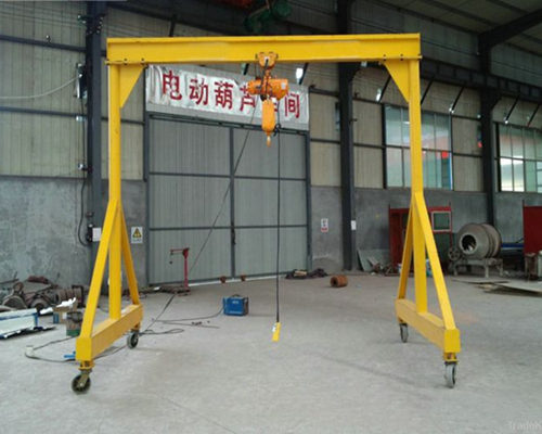 electric half gantry crane for sale
