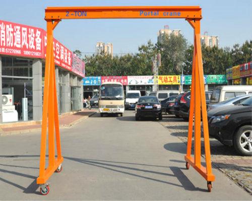 fixed gantry crane in low price for sale