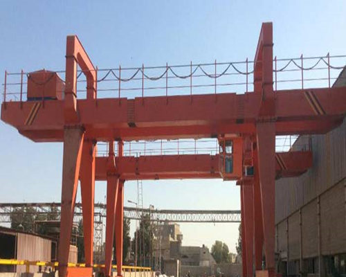 Ellsen ganrty crane 100 ton for bridge building for sale