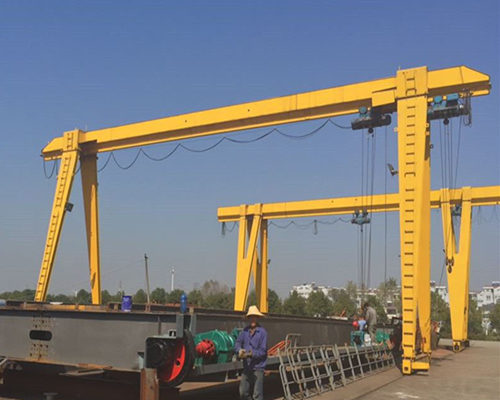 Ellsen gantry crane with electric hoist for sale