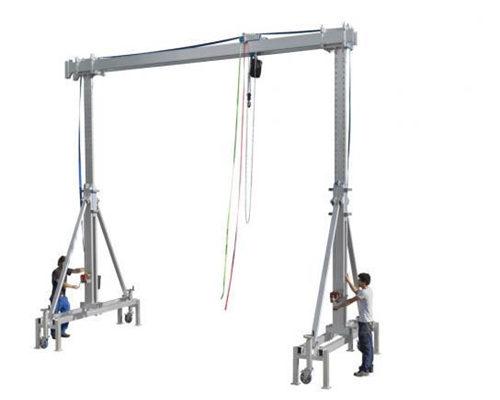 high quality aluminum gantry crane for sale