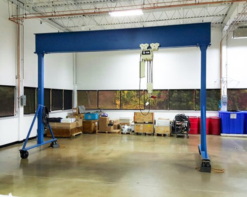 indoor outdoor gantry crane for sale