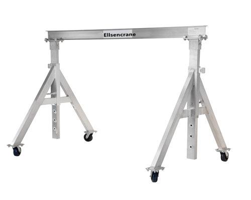 lifetime maintenance aluminum gantry crane for sale