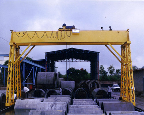 low price wireless remote control gantry crane for sale