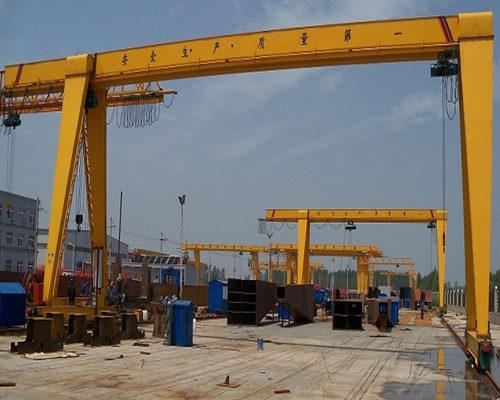 motor hoist gantry crane for sale