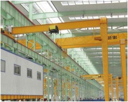 one year maintenance single leg gantry crane for sale