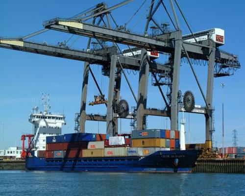 Ellsen port crane for sale