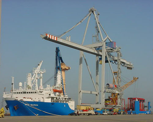 port crane in low cost and price for sale