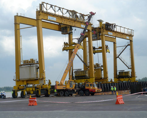 Ellsen port gantry cranes for sale