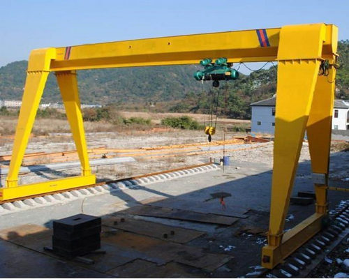 single girder electric gantry travel crane for sale