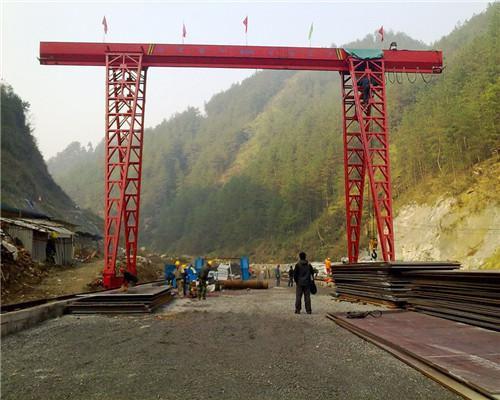 single girder gantry crane hoist for sale