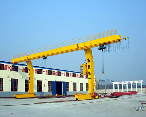 single girder hoist gantry crane for sale
