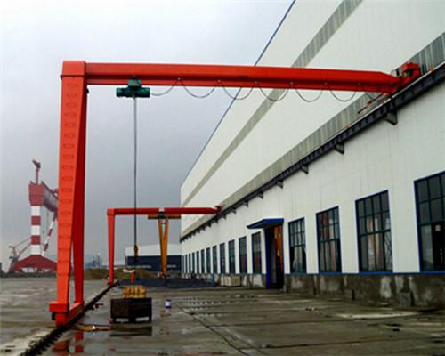 single leg gantry crane