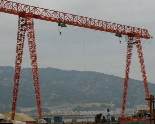 truss structure hoist gantry crane 10 ton for sale