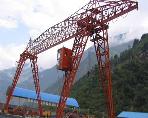 truss structure hoist gantry crane for sale