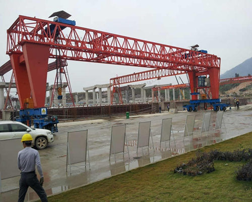 truss structure remote control gantry crane for sale