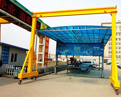 weight workshop gantry crane for sale