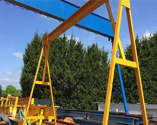 Fixed height gantry crane for sale