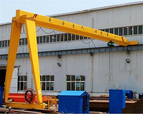 High quality single leg gantry crane for sale