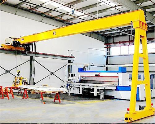 Lifetime maintenance Ellsen single leg gantry crane for sale