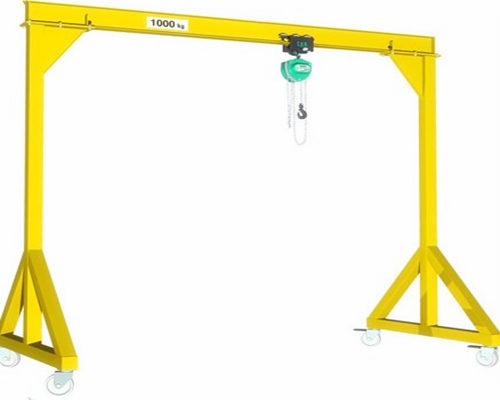 Low price steel factory gantry crane for sale