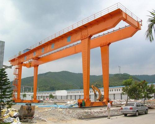 Rail mounted workshop gantry crane design for sale