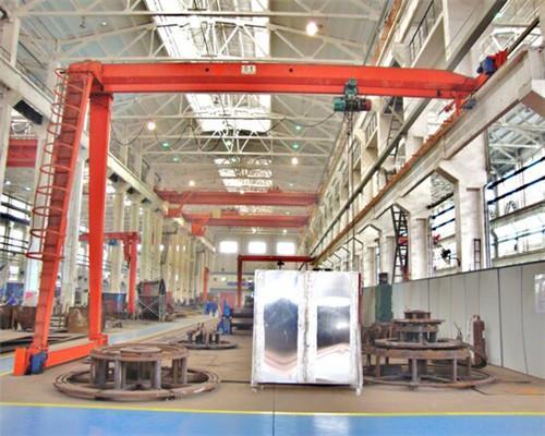 Single leg gantry crane from supplier for sale