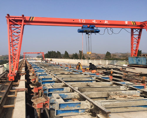 Workshop gantry crane in low price for sale