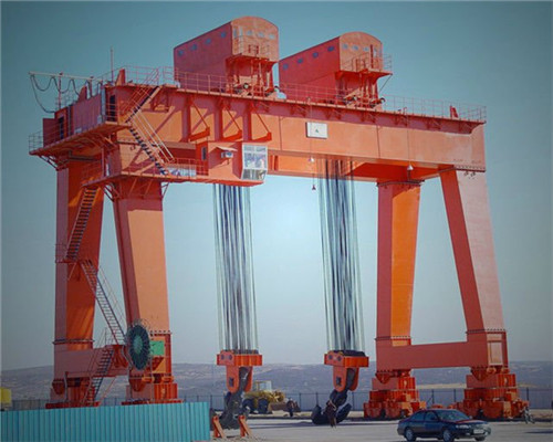 heavy_duty_double_trolley_gantry_crane_with_hook