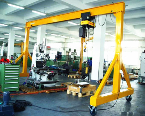 Advanced portable gantry crane for sale