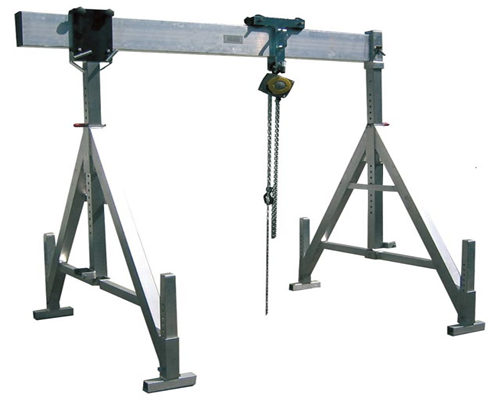 Aluminum portable gantry cranes for sale