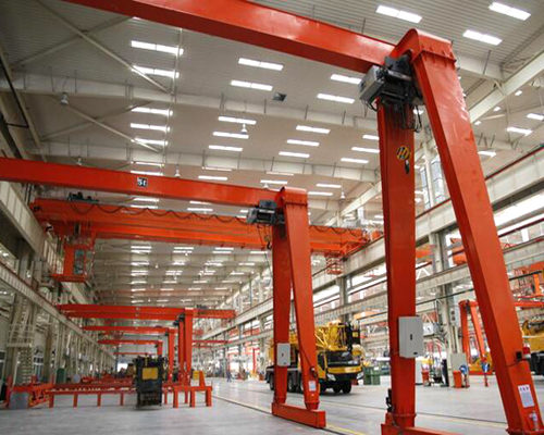 Best semi gantry crane design from Ellsen factory