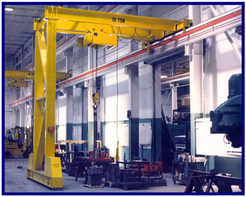Cheap price engineering gantry crane for sale