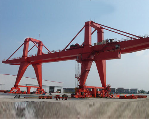 Competitive price Ellsen engineering gantry crane for sale
