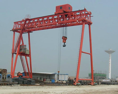 Double girder truss structure gantry crane in low price for sale