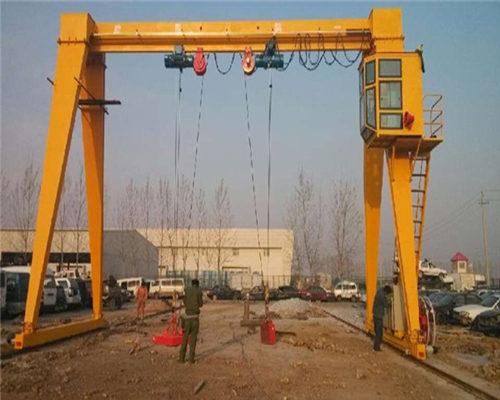 Ellsen 20 ton grab gantry crane for sale
