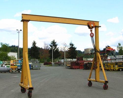 5 ton light duty gantry crane for sale