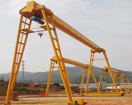 A model single beam gantry crane for sale