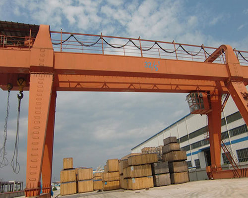 A type double beams mobile gantry crane for sale